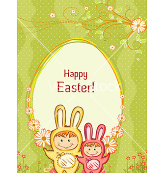 Free easter background vector - Kostenloses vector #228125