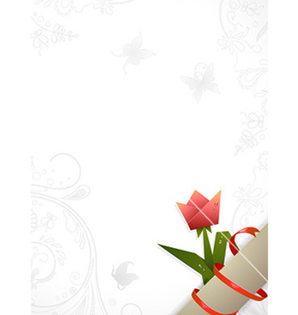 Free floral background vector - vector #228265 gratis