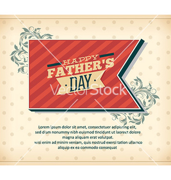 Free fathers day vector - Free vector #228305