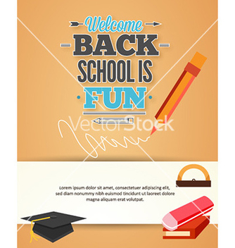 Free back to school vector - бесплатный vector #228515