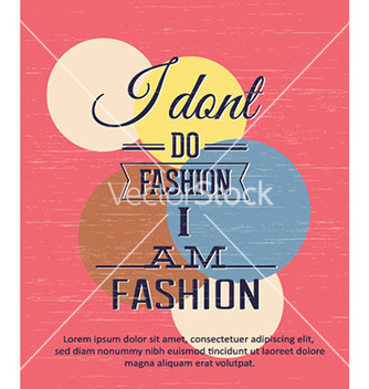 Free with fashion elements vector - Kostenloses vector #228755