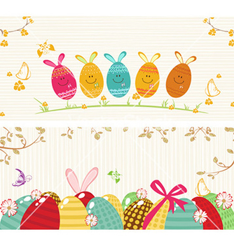 Free easter background vector - Free vector #228835