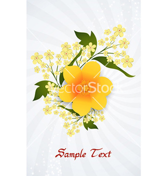 Free floral background vector - Free vector #229015