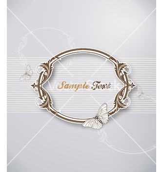 Free floral frame vector - Free vector #229105