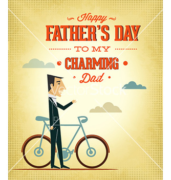 Free fathers day vector - Kostenloses vector #229355
