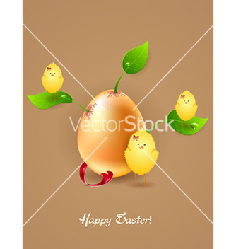 Free easter background vector - Kostenloses vector #229555