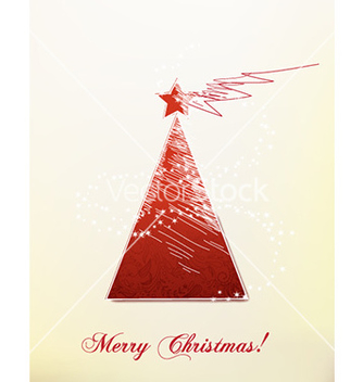 Free christmas with christmas tree vector - Kostenloses vector #229655