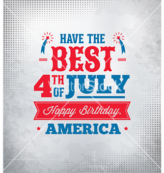 Free fourth of july vector - vector gratuit #229835