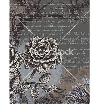 Free grunge floral background vector - vector gratuit #229925