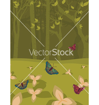Free spring floral background vector - Free vector #230095