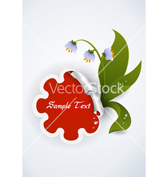 Free spring floral frame vector - Free vector #230275