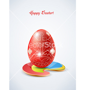 Free easter background vector - бесплатный vector #230405