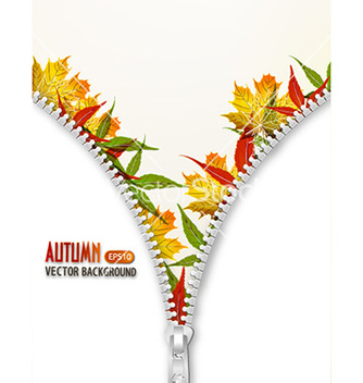 Free autumn background vector - vector #230725 gratis