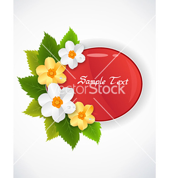 Free spring frame vector - Free vector #231015