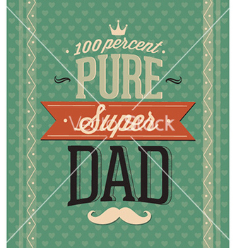 Free fathers day vector - Free vector #231295