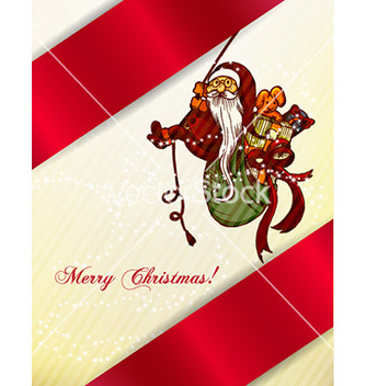 Free christmas with santa vector - vector gratuit #231385