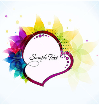 Free frame with floral vector - Free vector #231485