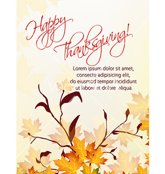 Free thanksgiving background vector - Free vector #231615