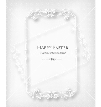 Free floral frame vector - Free vector #231665