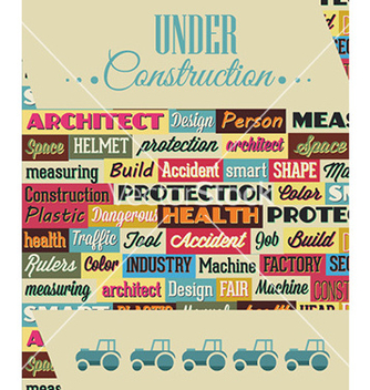 Free with industrial typography elements vector - Free vector #231695