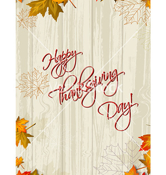 Free happy thanksgiving day vector - Free vector #231745