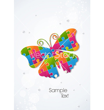 Free colorful butterfly vector - Free vector #231955