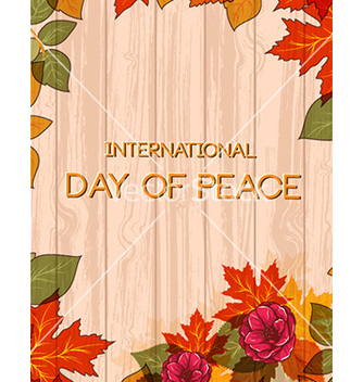 Free international day of peace vector - Kostenloses vector #232135
