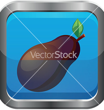 Free fruit icon vector - vector #232575 gratis