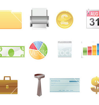 Free technology and networking icon set vector - vector #232605 gratis