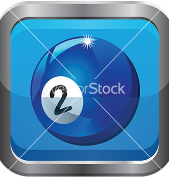 Free pool ball icon vector - vector gratuit #232705