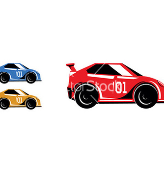 Free race cars vector - бесплатный vector #232835