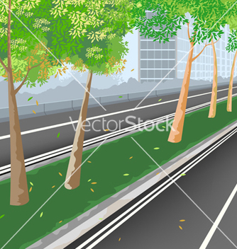 Free city streets vector - Free vector #233225