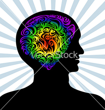 Free human mind vector - Free vector #233365