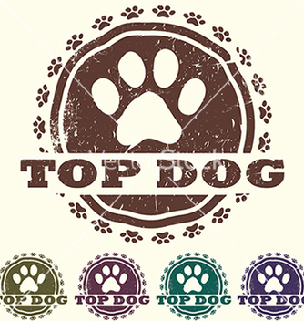 Free top dog vector - vector gratuit #233625