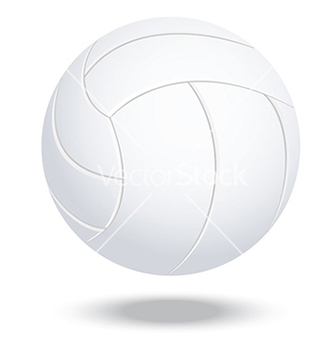 Free volleyball vector - vector gratuit #233915