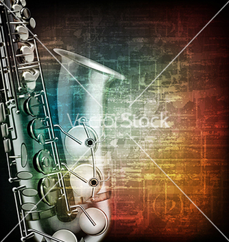 Free abstract music grunge vintage background with vector - Free vector #234005