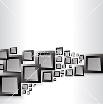 Free abstract background with black squares vector - Free vector #234085