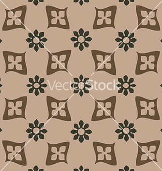 Free seamless floral pattern vintage background vector - Free vector #234205