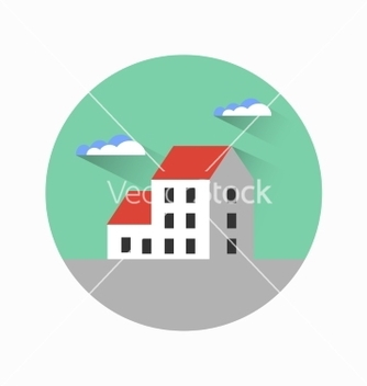 Free flat city urban style vector - бесплатный vector #234235