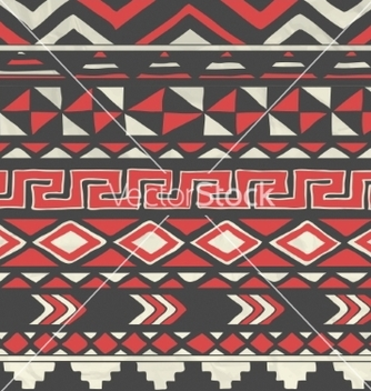 Free aztec tribal seamless pattern on crumpled vector - Kostenloses vector #234285