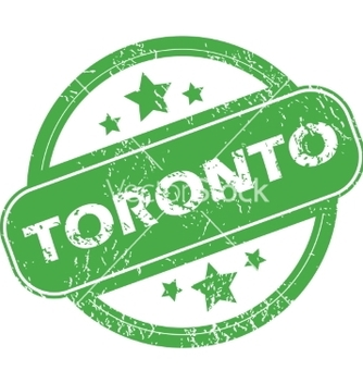 Free toronto green stamp vector - Free vector #234475