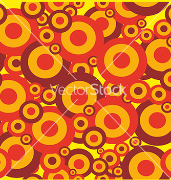 Free pattern with bright colored circles vector - vector #234635 gratis