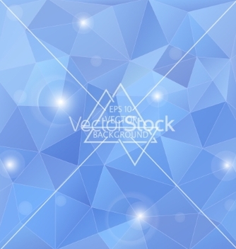 Free polygon blue background vector - Free vector #234795