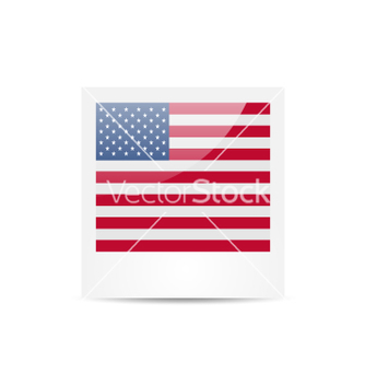 Free photo frame in us national colors for independence vector - Free vector #235195