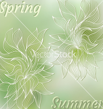 Free vegetation vector - vector gratuit #235265