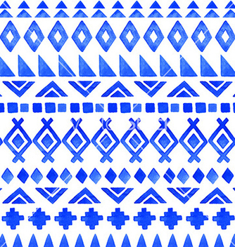 Free seamless aztec pattern vector - Kostenloses vector #235665