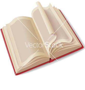 Free open book vector - vector #235675 gratis