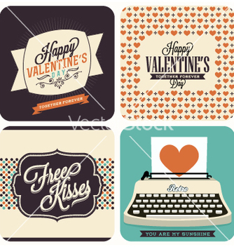 Free valentines day icons vector - Free vector #235925