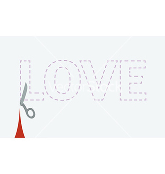 Free love cutout vector - бесплатный vector #236075