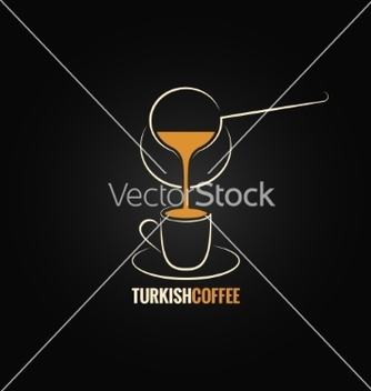 Free coffee cup turkish recipe background vector - Free vector #236185